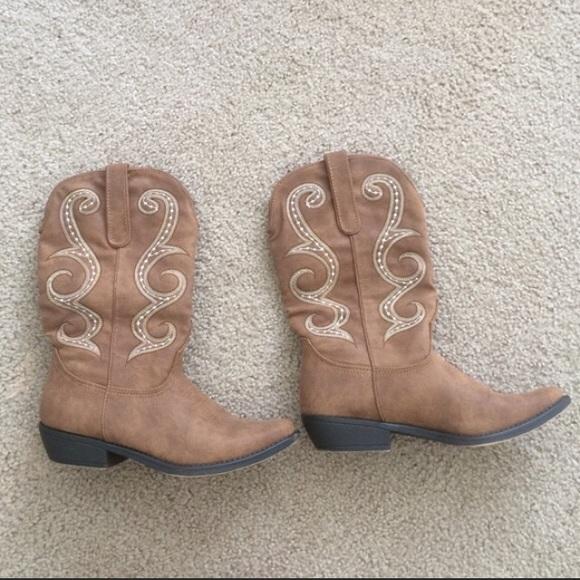 Shoes | Cowboy Boots Sz 75 Bought At